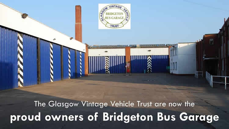 Bridgeton Bus Garage now owned by GVVT