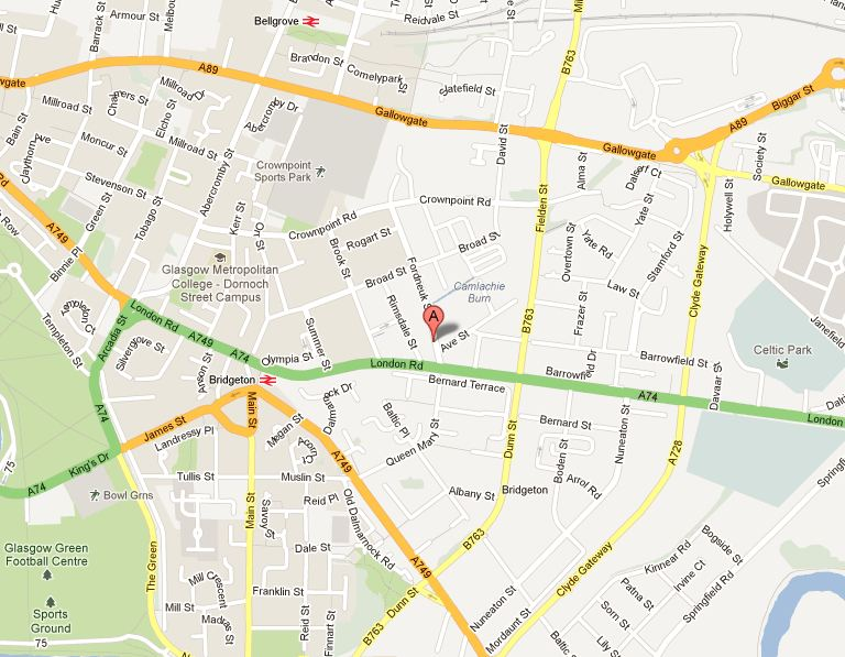 76-136 Fordneuk Street, Bridgeton, Glasgow G40 3AH
