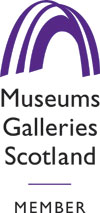 Member of Museums Galleries Scotland